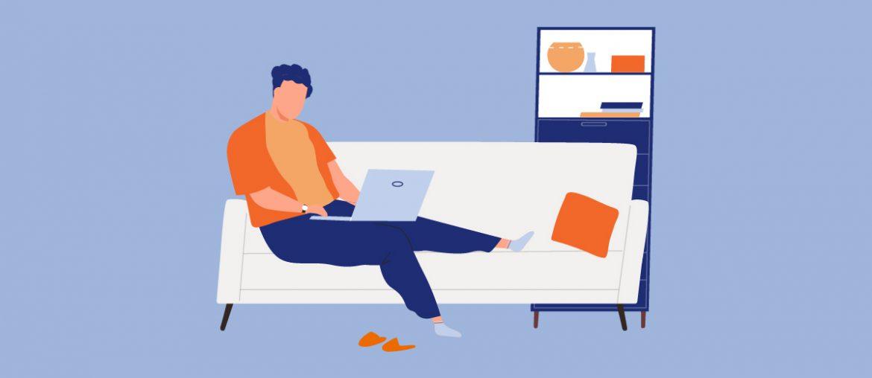 10 consejos para trabajar remot desde casa - portada