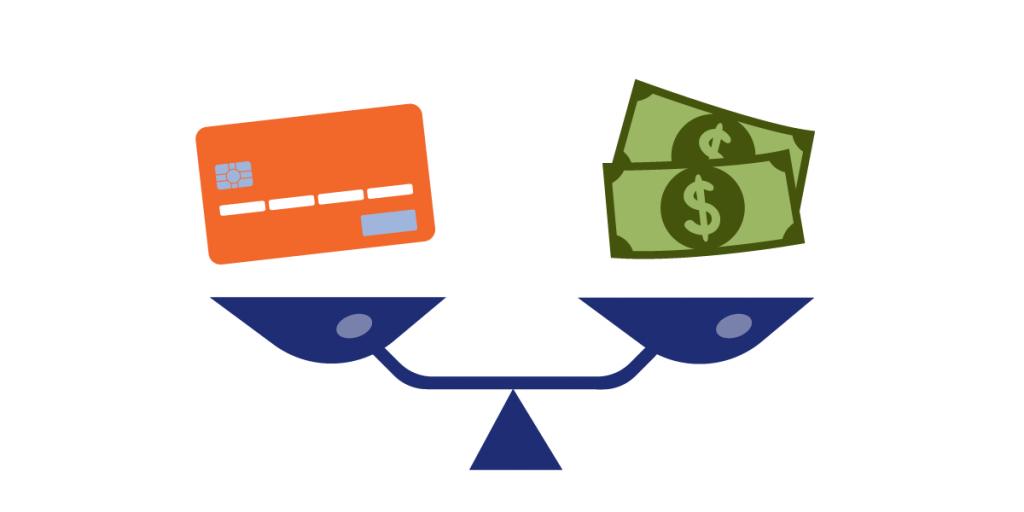 Tarjeta de crédito vs. Préstamo personal
