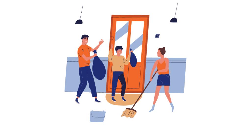 Educa a toda la familia a ser parte de la limpieza