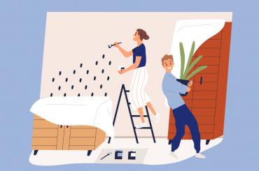 Nuevas tendencias de pintura para tu casa cover image