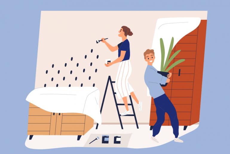 Nuevas tendencias de pintura para tu casa
