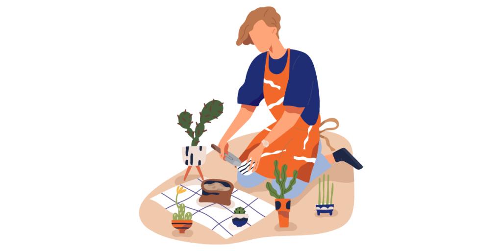 Utiliza abono orgánico