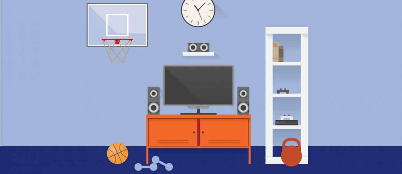 Consejos para mejorar el área de entretenimiento en tu casa