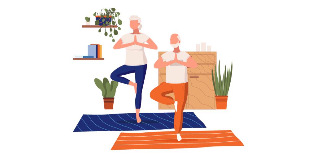 Busca clases gratis de yoga o pilates en línea